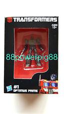 Hasbro Aisa Masterpiece Exclusive Mini Optimus Prime Metal Figure US Seller