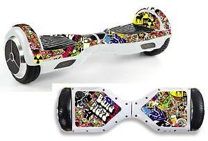 Sticker Bomb Sticker/Skin Hoverboard / Balance Board Hov3