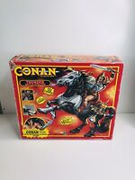 VINTAGE CONAN THE ADVENTURER THUNDER BATTLE STALLION BOXED IN GREAT CONDITION