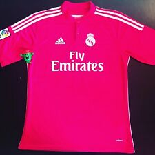 Real Madrid 2014-2015 Away Shirt Rose Pink Maillot Jersey Camiseta Kit Trikot