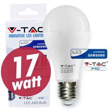 LAMPADINA LED E27 17W VTAC SAMSUNG LAMPADINA BULBO  CALDO NATURALE FREDDO