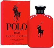 125ml Ralph Lauren Polo Red EDT 100 Genuine Mens Aftershave