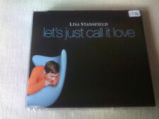 LISA STANSFIELD - LET'S JUST CALL IT LOVE - UK CD SINGLE