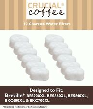 12 REPL Breville Single Cup Coffee Brewer Charcoal Filters Part # BWF100 White