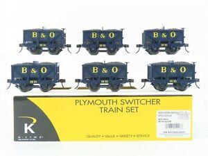 O Gauge 3-Rail K-Line K672-1091A B&O Baltimore & Ohio Ore Car 6-Pack