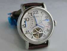 Sea-Gull M172S retrograde date flying wheel power reserve automatic watch