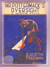 MR. POTTERMACK'S OVERSIGHT (R. Austin Freeman/1st US/#22 Dr. Thorndyke)