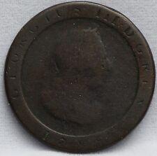1798 Isle of Man -  Half penny 1798 1/2 penny 1798 - KM# 10 - cartwheel