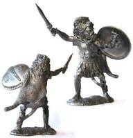 Carthaginian Officer, III-II cc. B.C. Tin toy soldier 54 mm. metal