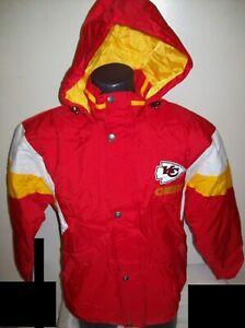 KANSAS CITY CHIEFS STARTER Hooded Jacket  S, M, L, XL, 2X RED