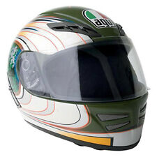 AGV S4 S-4 Full Face Street Motorcycle Helmet Camo Green Multi Color XSmall XS