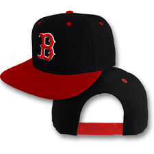Boston Red Sox Snap Back Cap Hat Embroidered Men Adjustable Flat Bill