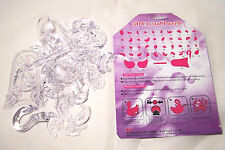 44 PIECES 3D ACRYLIC CRYSTAL SWAN PUZZLE FOR AGES 8 AND OVER DIFFICULTY +++