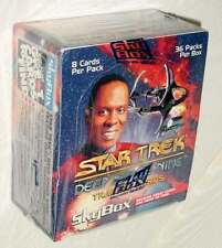 Star Trek Deep Space Nine trading cards factory sealed box