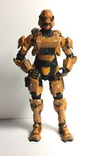 HALO 4 SPARTAN WARRIOR SOLDIER ORANGE from BOX SET Loose Action Figure Rare