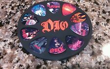 DIO GUITAR PICKS HOUSED IN SPECIAL DIO CIRCULAR CASE!!!!