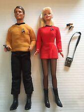 1996 Star Trek Ken & Barbie Set New Unboxed Complete 15006
