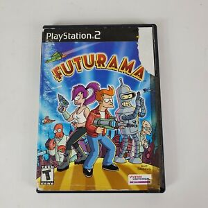 Futurama (2003) PlayStation 2 - PS2 Disc Front Back Cover