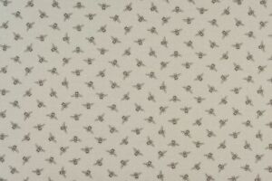 Bumble Bees Linen Oil Table Cloth Pvc Coated Cotton Wipe Clean Water Resistant