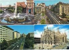 Lote de 8 postales de países europeos. Sin circular
