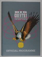 Big Country The Seer Tour '86 Official Programme UK 1986 Stuart Adamson