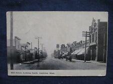 1912 Appleton Minnesota Mill Street Postcard & RPO Cancel
