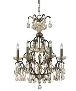 Triarch 32463 Versailles Collection 6-Light Chandelier