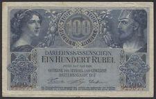 Ro.463a Darlehnskasse Ost - Besetzung Rußland 100 Rubel 1916 6-stellig (3-)