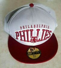 Philadelphia Phillies Hat Size 7 3/4 New Era 59 Fifty Cap Cooperstown Collection