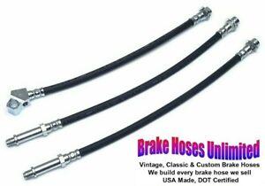 BRAKE HOSE SET Ford Ranchero 1967 - Front Disc