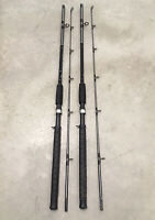 "2 Berkley Fusion 6'6"" Casting Rods MH Action Saltwater 10-25lb Catfish Big Game"