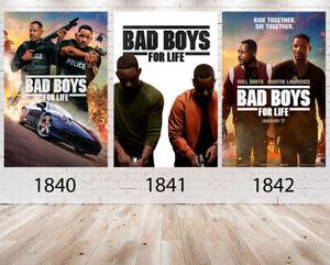 Bad Boys for Life Movie Poster Wall Art Maxi 2020 Prints New Film Cinema