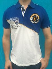 Bruno Banani Herren Polo Shirt blau-weiß Gr. XXXXL NEU 4XL