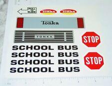 Mighty Tonka School Bus Van Replacement Sticker Set TK-242