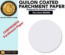 CHEFWORTH Baking Parchment Paper Pan Liner Round Circles 100 Sheet PK Multi-Size