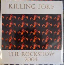 "Killing Joke - The Rockshow Sessions 2004 10"" Clear vinyl."