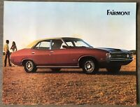 c1972 Ford Fairmont original Australian sales brochure