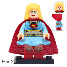 Supergirl - Marvel DC Universe Lego Moc Minifigure Gift For Kids