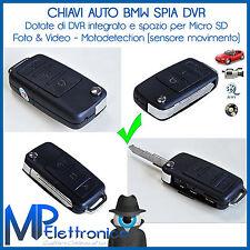 MINI DVR CHIAVE AUTO USB TELECAMERA REGISTRA VIDEO AUDIO MICRO SD SPY CAM SPIA