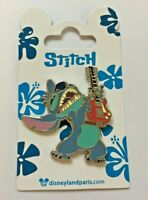 Disney Pin Badge DLP - Stitch Jamming Guitar
