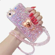 For LG Stylo 5/4+ Glitter Diamond Soft Sparkle Bling rope Silicon Case Cover US