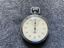 Vintage Russian Made Mechanical Wind Up Stopwatch