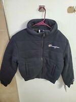 "Champion Life Men's Reverse Weave Jacket Black Size S(38""Chest/21""Length) NWT"