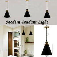 Vintage Industrial Loft Style Metal Ceiling Pendant Light Shades Lampshade UK