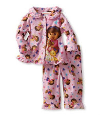 NICKELODEON SLEEPWEAR DORA LOVES PETS 2 PAJAMA SETS 12 MONTHS NWT