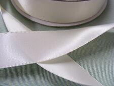 Ribbon Satin  50mm  Off White/Bridal White x 22 mts