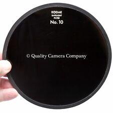 "Kodak 5.5"" (14cm) Safelight Filter No.10 (DARK AMBER) Color Neg/Panchromatic B&W"