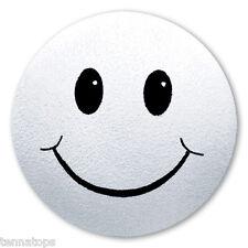 Tenna Tops® White Smiley Antenna Topper / Antenna Ball / Car Accessory