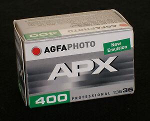 AgfaPhoto Pan 400  135/36  Kleinbildfilm  5 Filme MHD 05/2023