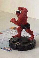 HeroClix Incredible Hulk #028  RED HULK  Marvel